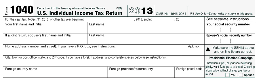 Interactive tax forms 1040 page 1 publicscrutiny Images