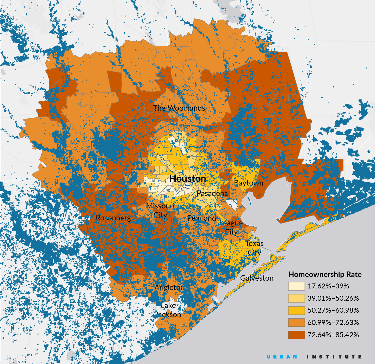 Flood Map Houston Mapping Harvey's Impact on Houston's Homeowners   CityLab